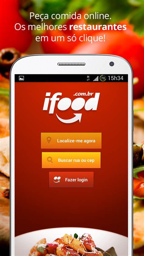 ifood delivery  entrega de comida amazoncombr amazon