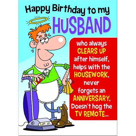 Maybe you would like to learn more about one of these? Valentine Card Design: Funny Happy Birthday Card For Husband