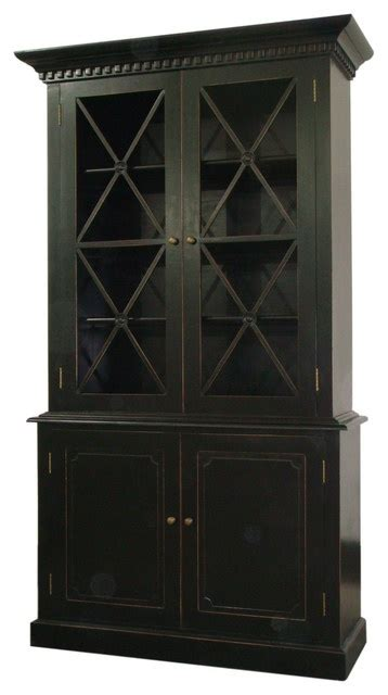 black kitchen pantry cabinet humprey cabinet in distressed black traditional pantry 4709