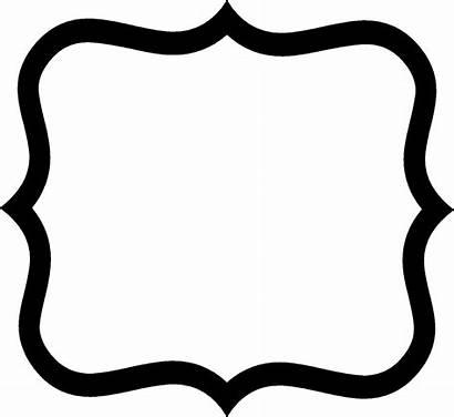 Shapes Shape Clip Fancy Label Clipart Sign
