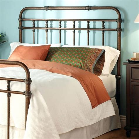 White Wrought Iron King Size Headboards by Metal Bed Headboard Queen Marcelalcala