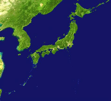 Ģeogrāfiskā karte - Japāna - 1,557 x 1,419 Pikselis - 949 ...