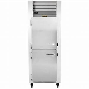 Traulsen G12001 Half Door Reach In Freezer