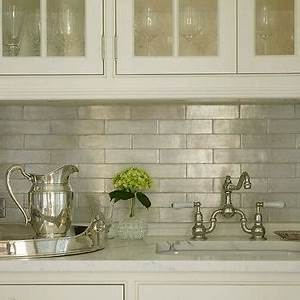Iridescent Kitchen Backsplash - Design, decor, photos