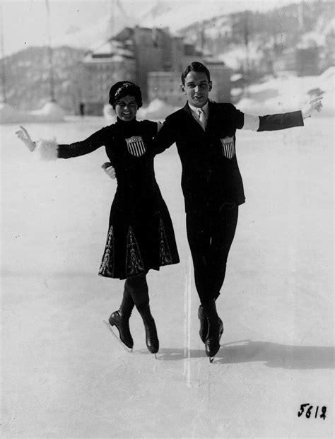 US Figure Skating pair Sherwin Campbell and Beatrix ...