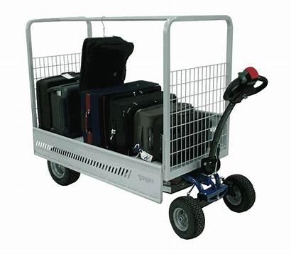 Electric Zallys Cart Wheel Materials Platform Handling