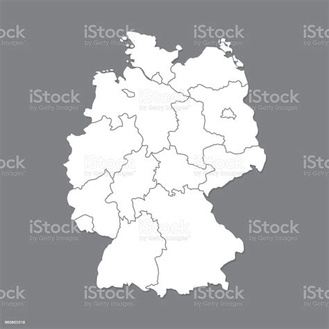 This is a thumbnail of the outline map of germany. Blank Map Of Germany And Surrounding Countries