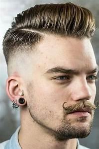 Coupe Homme Degradé : coupe de cheveux homme 2017 barbe ~ Melissatoandfro.com Idées de Décoration