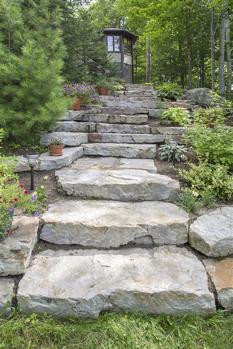 escalier en naturelle marches en naturelle le sp 233 cialiste c est paysagiste s 233 lect