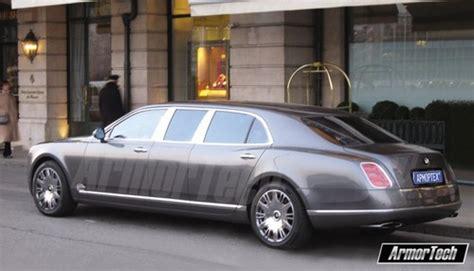 Armortech Bentley Mulsanne Stretch Limo