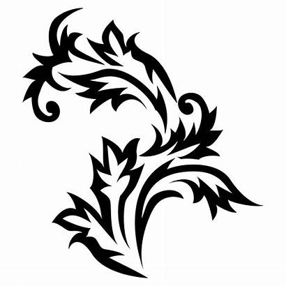 Gambar Bunga Pattern Floral Transparent Transparan Brushes