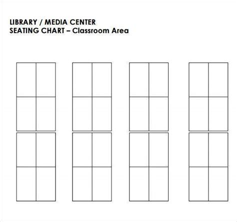 classroom seating chart template  examples