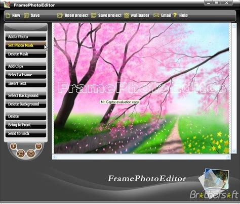 download free frame photo editor software