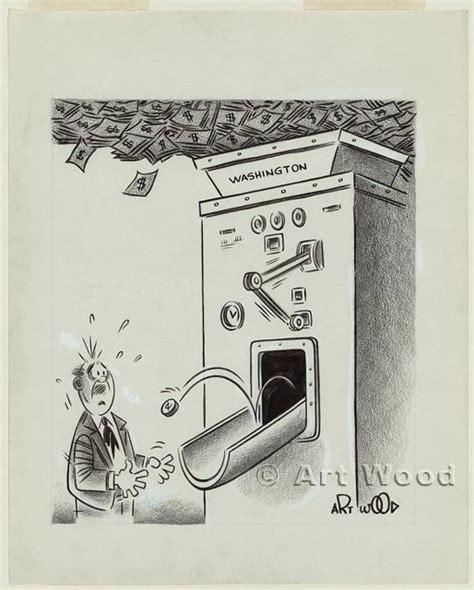 political illustrations cartoon america exhibitions