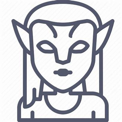 Avatar Movie Neytiri Superhero Icon Diablo Editor