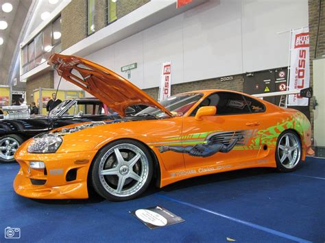 Toyota Supra From The Fast And The Furious. Getting
