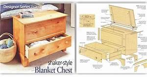 Blanket Chest Plan • WoodArchivist