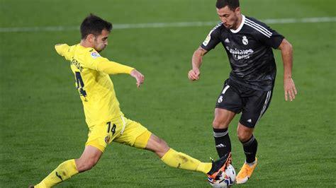 Real Madrid Vs Villarreal : La Liga Player Ratings ...