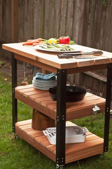grill side table outdoor 56 best images about outdoor kitchen on pinterest big