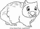 Coloring Wombat Animal Ox Musk Cartoon Colouring Template Arctic Karikatur Ausmalbilder Tier Anime Dessin Livre Animals Coloration Fotosearch Getdrawings Sketch sketch template