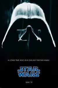 Darth Vader Star Wars Original Poster