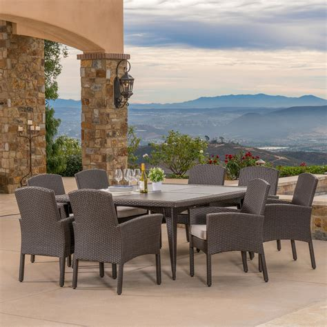 santa fe 9pc dining collection mission furniture