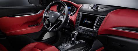 maserati truck red interior 2017 maserati levante is the first crossover of the