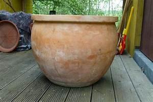 Terracotta Töpfe Groß : terracotta pflanzk bel gro in roth sonstiges f r den garten balkon terrasse kaufen und ~ Eleganceandgraceweddings.com Haus und Dekorationen