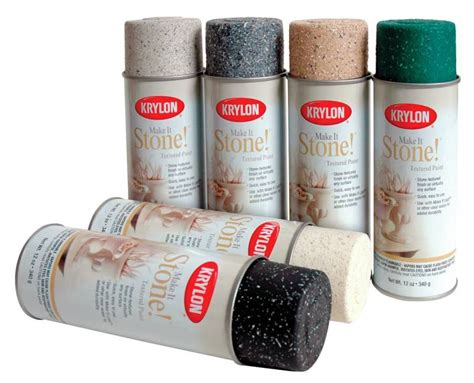 Unique Faux Granite Spray Paint #9 Krylon Stone Spray