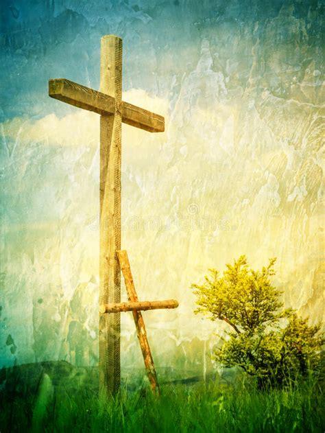 crosses  symbol   jesus christ stock photo image  antique christianity
