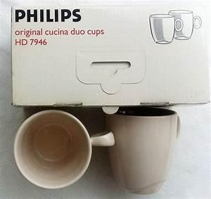 Tasse Cafe Original : philips original cucina duo cups hd7946 caf tasses tasses ~ Teatrodelosmanantiales.com Idées de Décoration