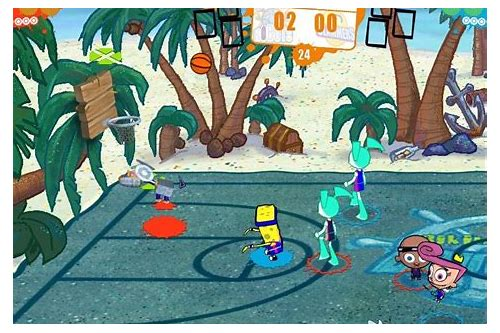 nicktoons basketball download free