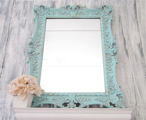 Decorative Bathroom Mirrors Sale by Shell Motif Cottage Mirror Home Decor Wall