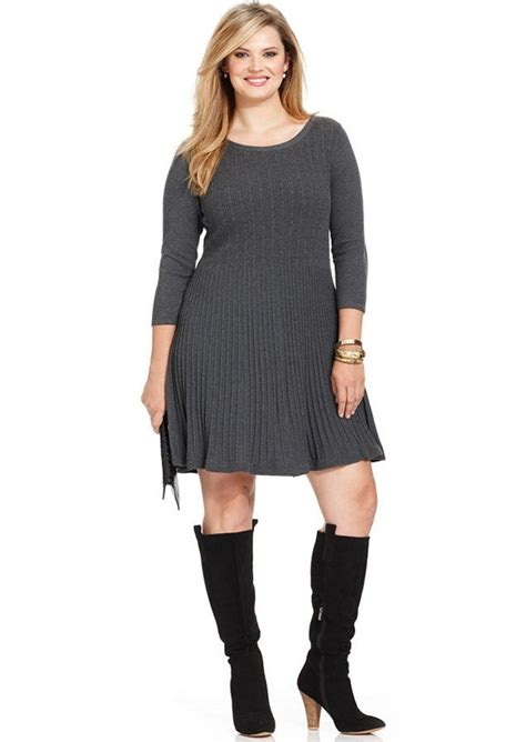 style and co sweaters style co style co plus size ribbed sweater dress