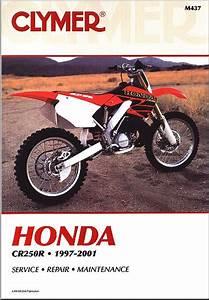 Honda Cr250r Repair  U0026 Service Manual 1997-2001