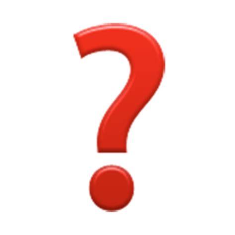 black question mark ornament emoji  facebook email