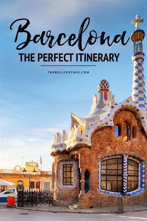 Barcelona, Spain - The Perfect Itinerary for First-Timers ...