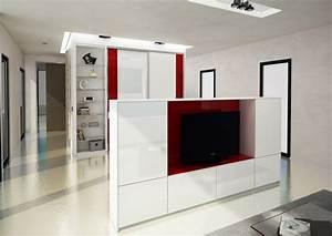 tv au milieu du salon meuble de salon contemporain With meuble pour separation de piece 4 comment choisir son meuble tv