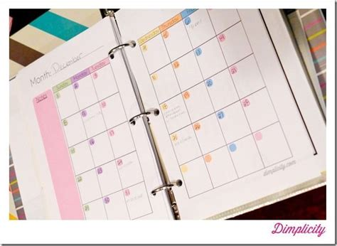 mini binders printables girls blog pretty cool youre