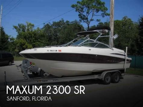 Used Boats For Sale In Sanford Florida by For Sale Used 2000 Maxum 2300 Sr In Sanford Florida