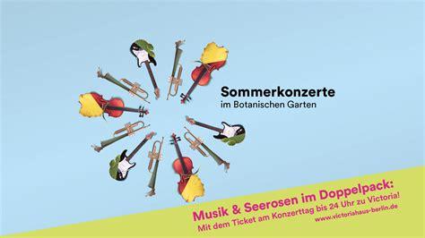 Botanischer Garten Berlin Sommerkonzerte 2018 by Sommerkonzerte Botanischer Garten Berlin