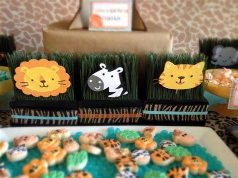 karas party ideas jungle safari themed birthday party
