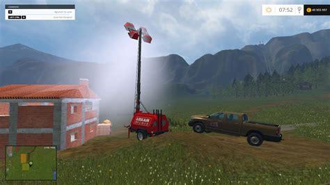 Llight Farms Ls by Placeable Floodlight Generato Loxam Mod Farming