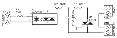 Solid State Relay Switch Circuit Wiring Diagrams