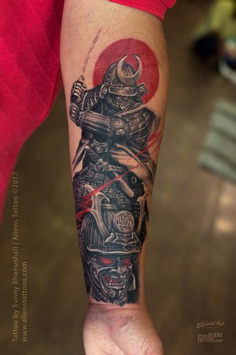 badass samurai tattoos thatll    awesome