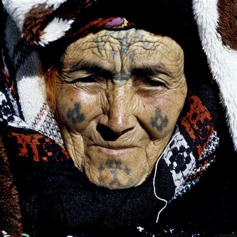 Inked Heritage Berber Women's Tattoos In Algeria