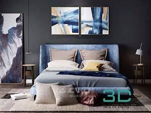 Bed Room 3 Max File - 3d Mili - Download 3d Model - Free 3d Models