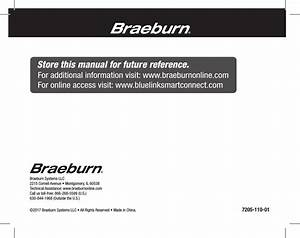 Braeburn Systems 7205 Electronic Thermostat User Manual