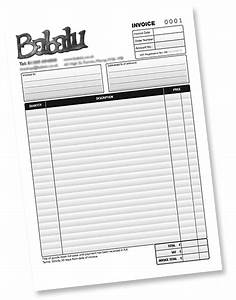 stationery design and printing based in peterborough With invoice pads personalized