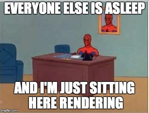 Spiderman Desk Meme - spiderman computer desk memes hot imgflip